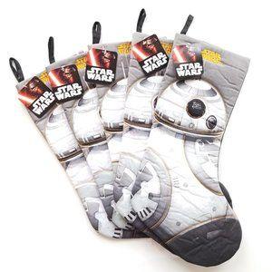 new Star Wars Set of 5 XL Holiday Stockings Xmas
